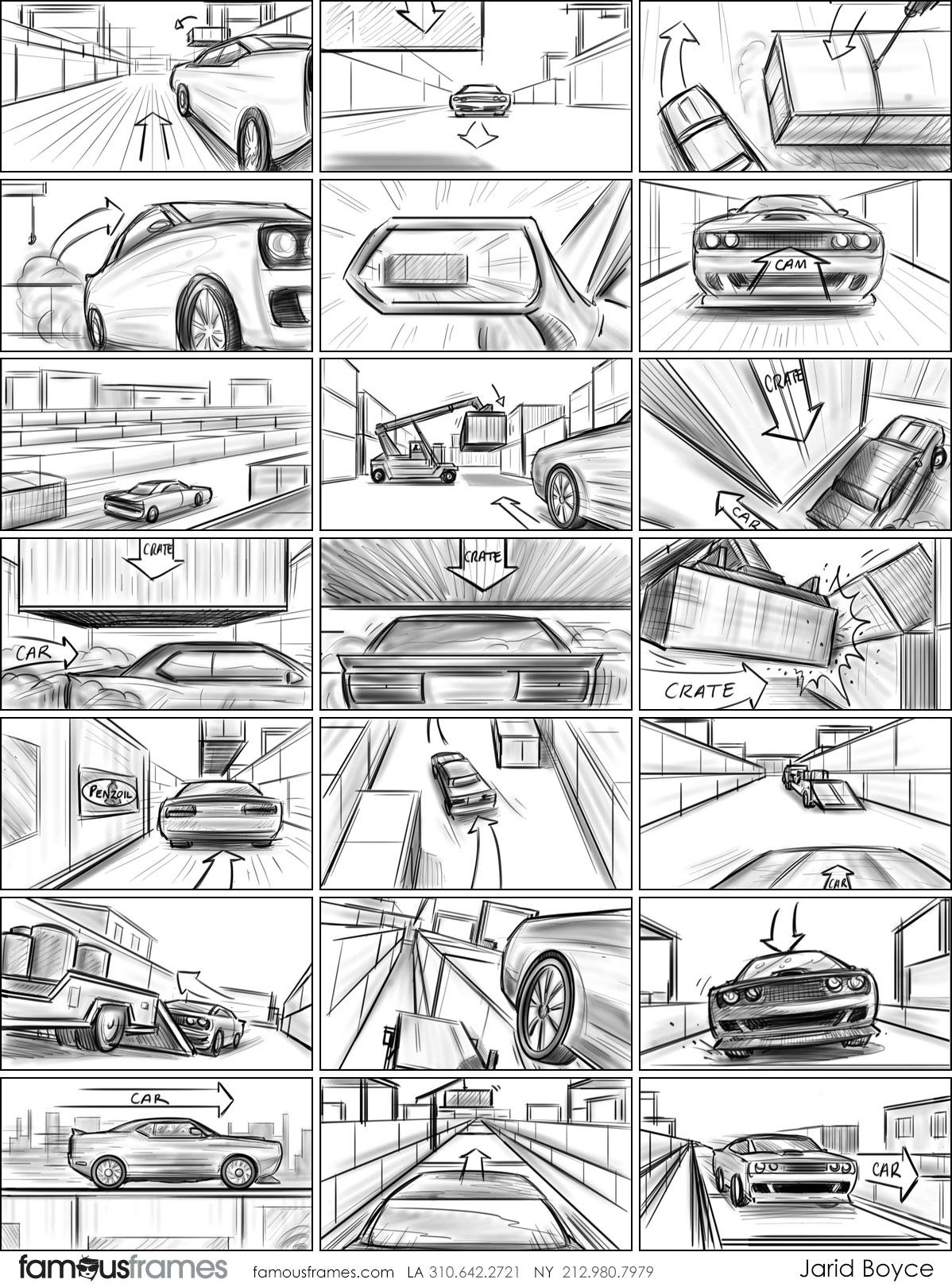 Jarid Boyce*'s Shooting Vehicles storyboard art (Image #64_107_1510163413)