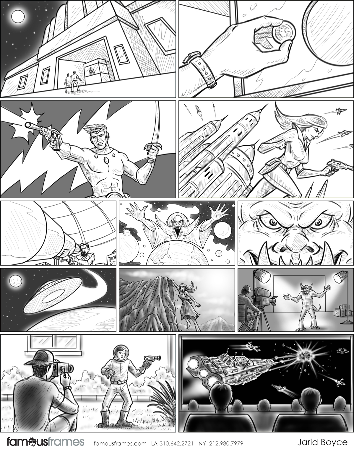Jarid Boyce*'s Comic Book storyboard art (Image #64_9_1568759593)