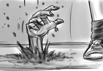 Jarid Boyce*'s Music Video storyboard art