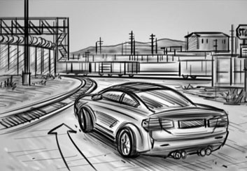 Jarid Boyce*'s Vehicles storyboard art