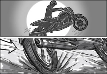 Jarid Boyce*'s Action storyboard art