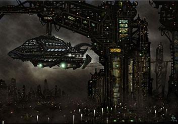 Jarid Boyce*'s Sci-Fi storyboard art