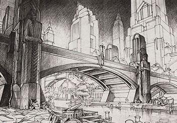 Vladimir Spasojevic's Architectural showcase art