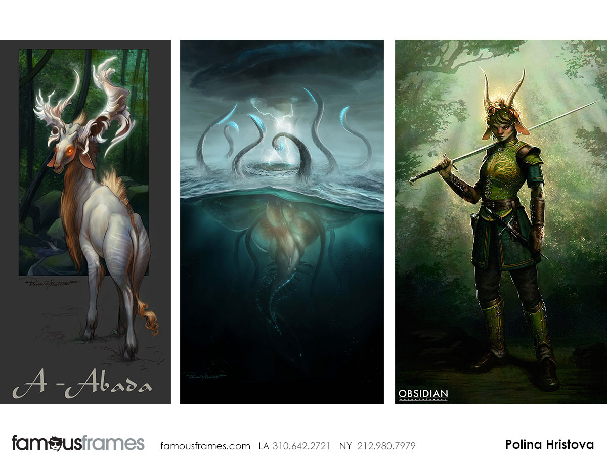 Polina Hristova's Characters / Creatures storyboard art (Image #6557_8_1458757564)