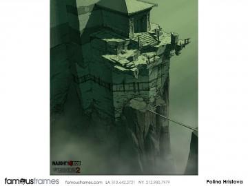 Polina Hristova's Environments storyboard art