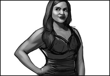 Polina Hristova's Likenesses storyboard art