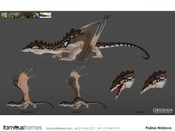 Polina Hristova's Characters / Creatures storyboard art