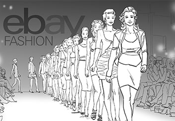 Matteo Stanzani's Beauty / Fashion storyboard art