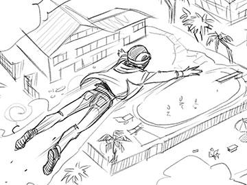 Matteo Stanzani's Shootingboards storyboard art