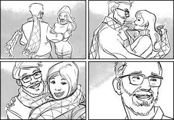 Matteo Stanzani's Shootingboards storyboard art