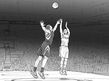 Matteo Stanzani's Sports storyboard art
