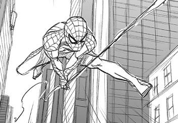 Matteo Stanzani's Comic Book storyboard art