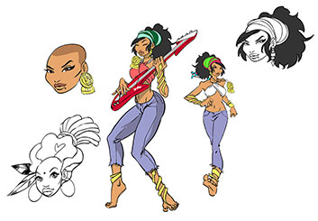 Matteo Stanzani's Characters / Creatures storyboard art