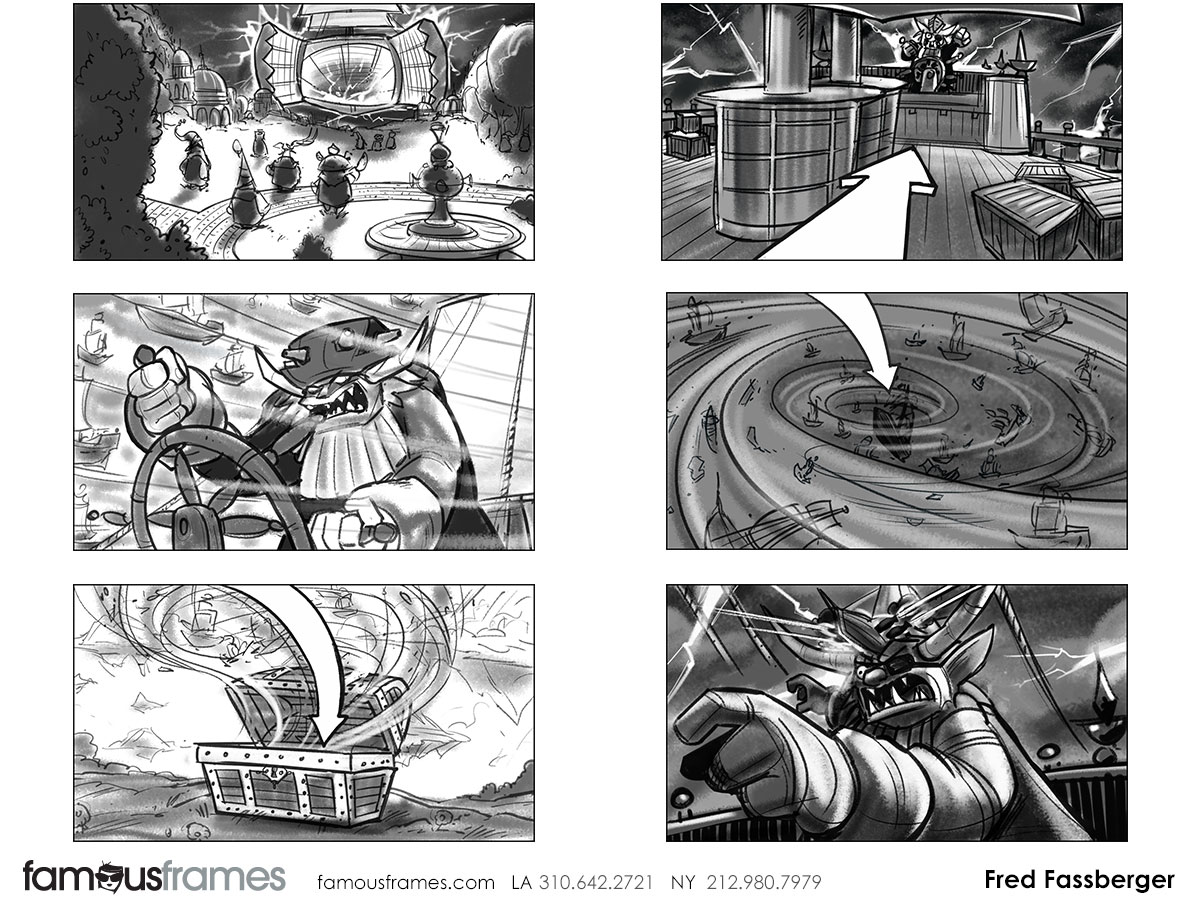 Fred Fassberger's Shooting Animation  storyboard art (Image #6721_110_1470443986)