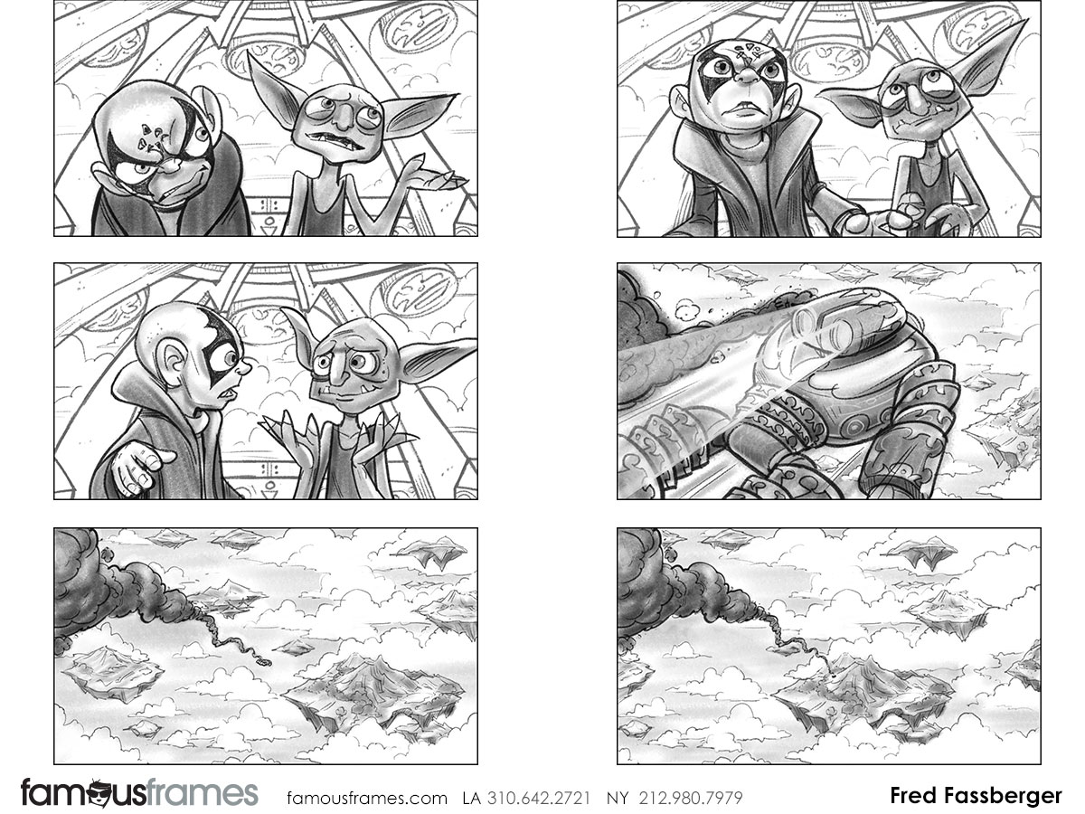 Fred Fassberger's Shooting Animation  storyboard art (Image #6721_110_1470790965)