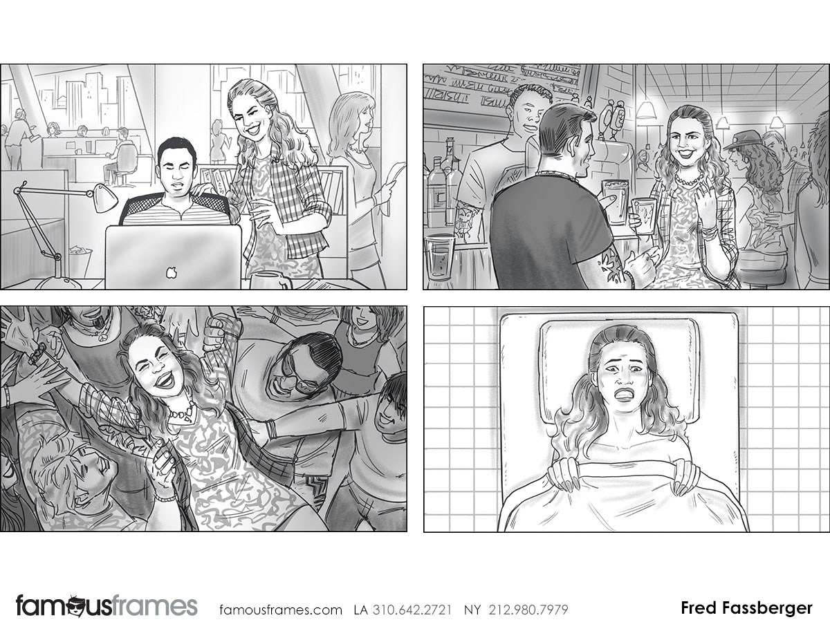 Fred Fassberger's People - B&W Tone storyboard art (Image #6721_113_1470702976)