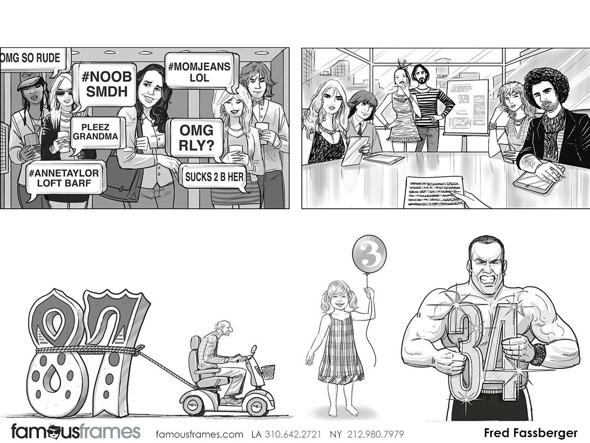 Fred Fassberger's People - B&W Tone storyboard art (Image #6721_113_1470704069)