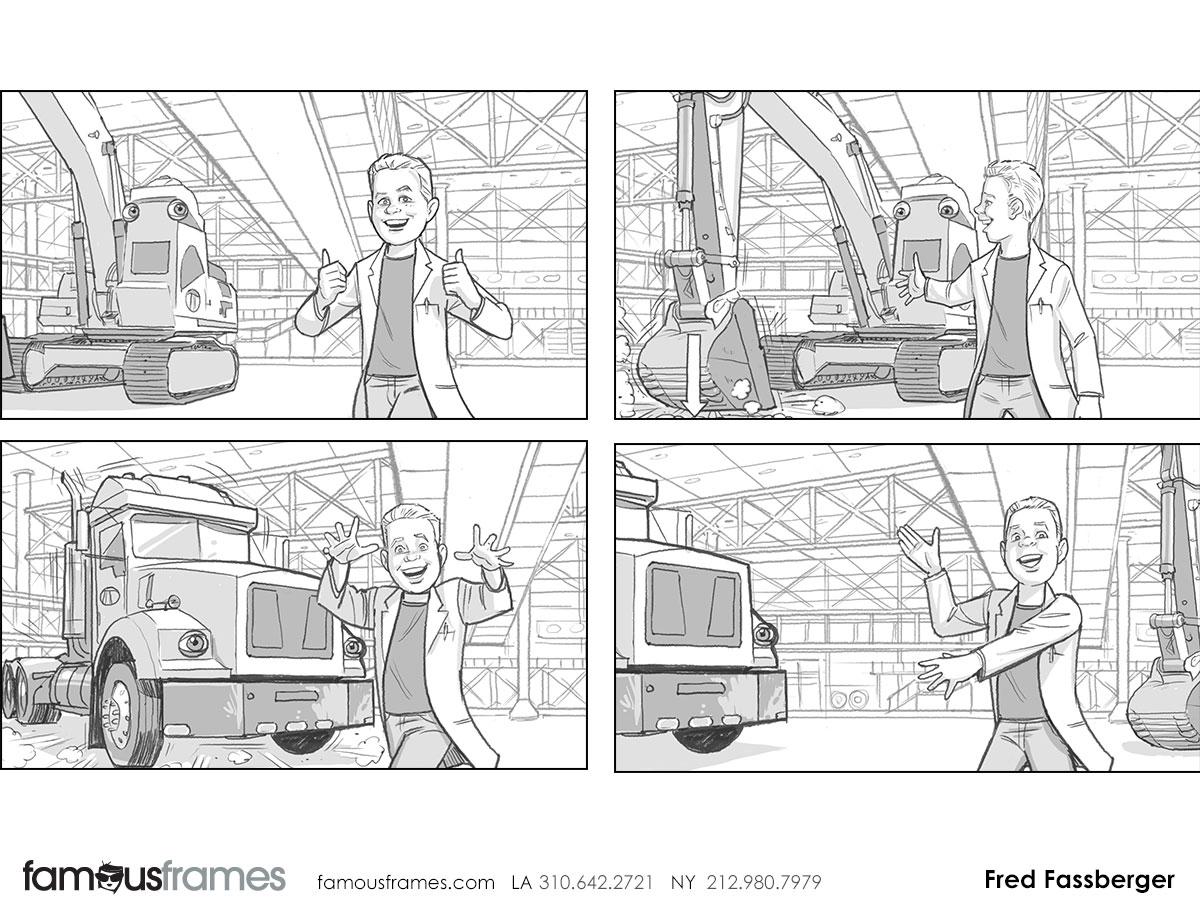 Fred Fassberger's People - B&W Tone storyboard art (Image #6721_113_1470761488)