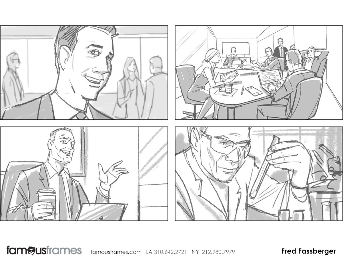 Fred Fassberger's People - B&W Tone storyboard art (Image #6721_113_1470784514)
