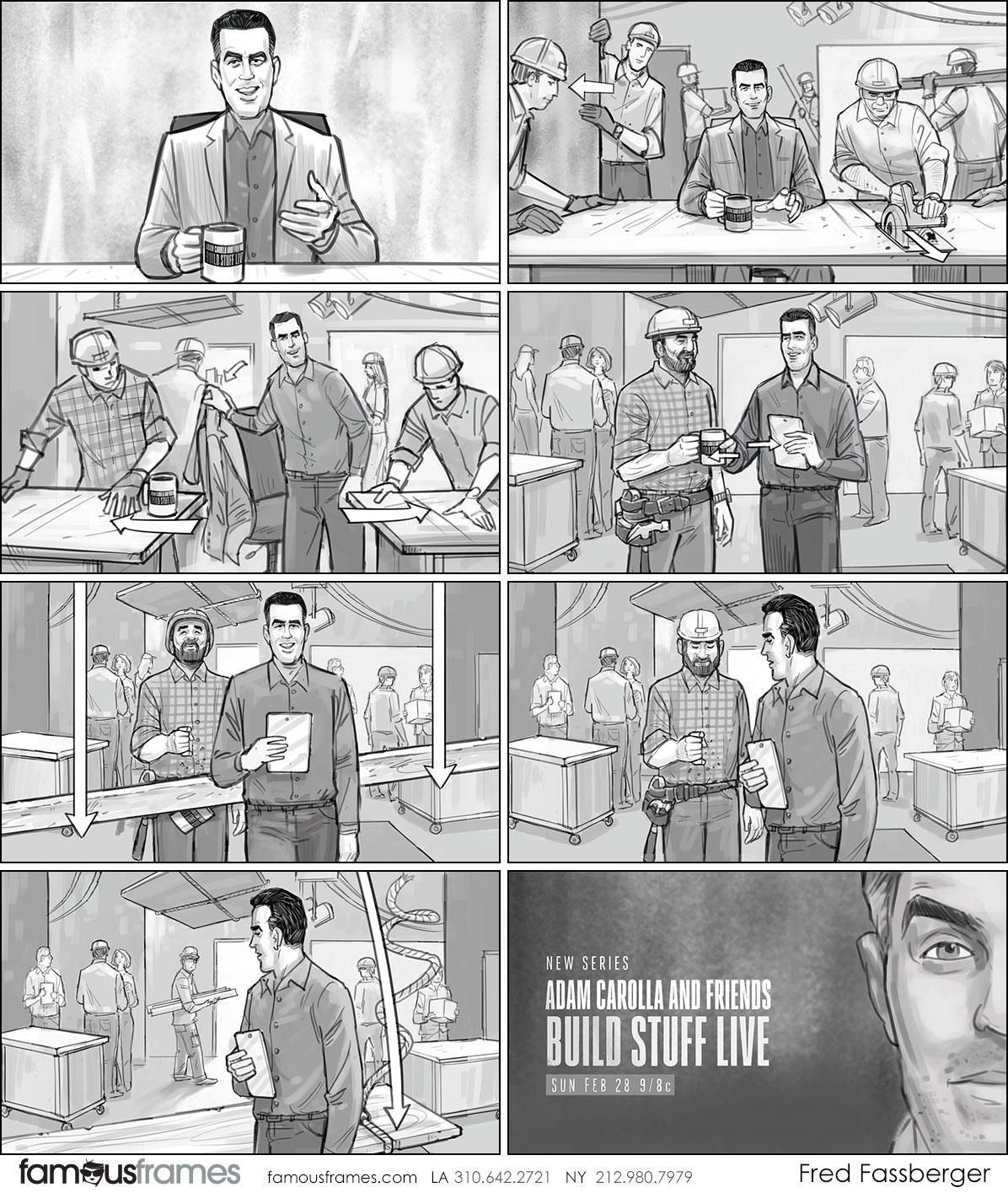 Fred Fassberger's People - B&W Tone storyboard art (Image #6721_113_1497555388)