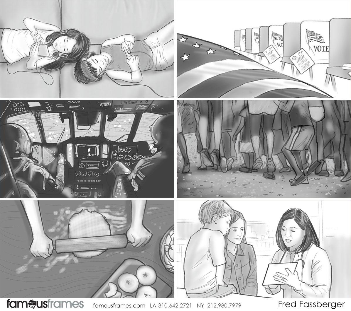 Fred Fassberger's People - B&W Tone storyboard art (Image #6721_113_1497573873)