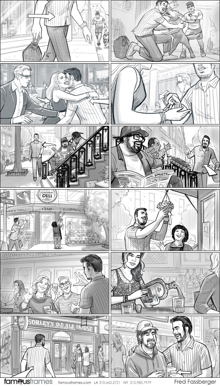 Fred Fassberger's People - B&W Tone storyboard art (Image #6721_113_1553815030)