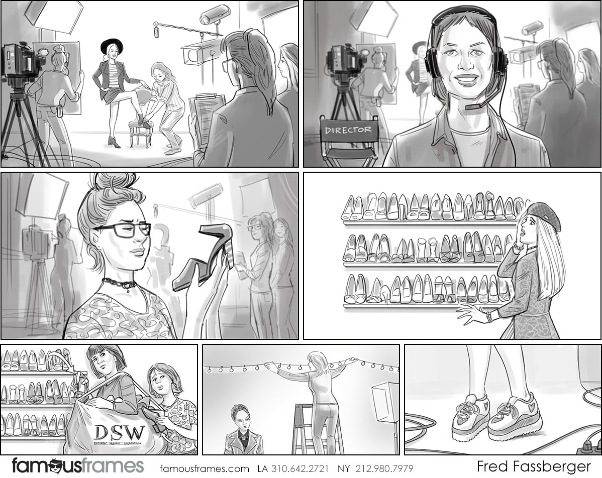 Fred Fassberger's People - B&W Tone storyboard art (Image #6721_113_1553886424)