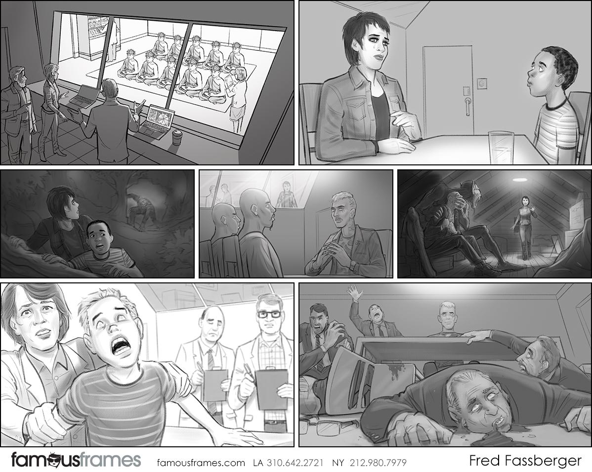 Fred Fassberger's People - B&W Tone storyboard art (Image #6721_113_1579732997)