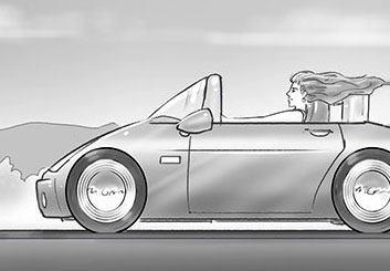 Fred Fassberger's Vehicles storyboard art