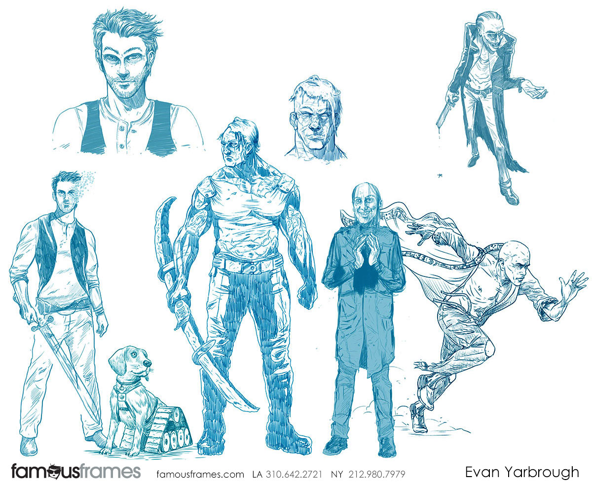 Evan Yarbrough*'s Characters / Creatures storyboard art (Image #6725_8_1518132430)