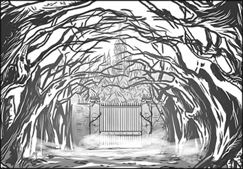 Evan Yarbrough*'s Concept Environments storyboard art