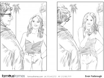 Evan Yarbrough's Beauty / Fashion storyboard art