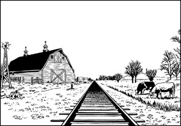 Evan Yarbrough's Environments storyboard art