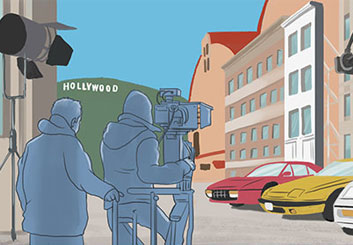 Evan Yarbrough*'s Environments storyboard art