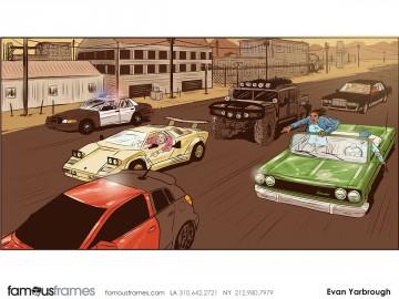 Evan Yarbrough's People - Color  storyboard art