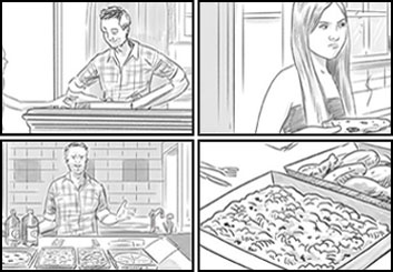 Evan Yarbrough*'s Shootingboards storyboard art