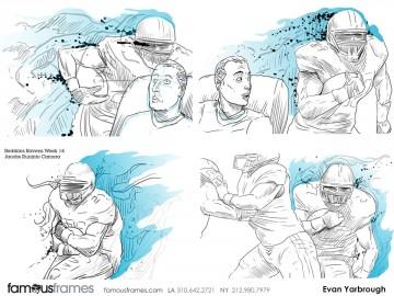 Evan Yarbrough's Sports storyboard art