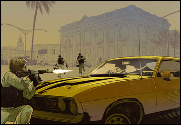 Evan Yarbrough*'s Vehicles storyboard art