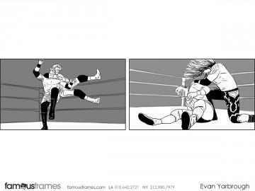 Evan Yarbrough's Action storyboard art