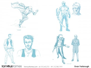 Evan Yarbrough's Characters / Creatures storyboard art