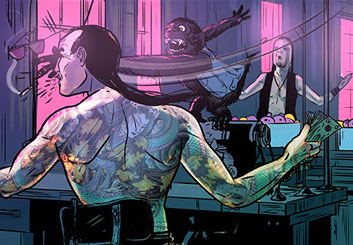 Evan Yarbrough's People - Color  storyboard art