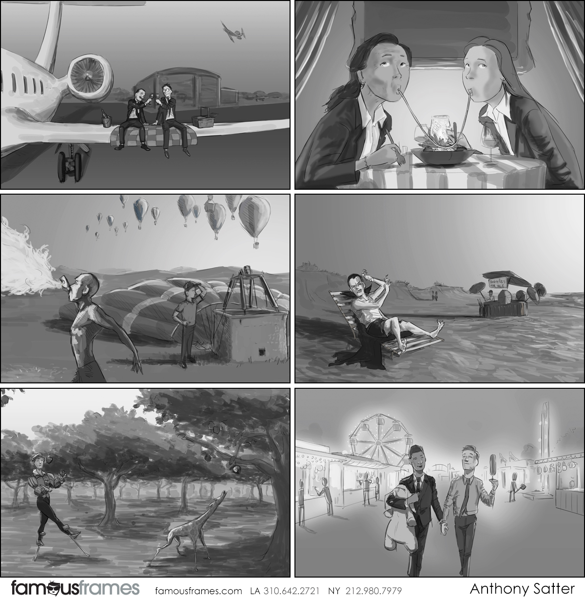 Anthony Satter's People - B&W Tone storyboard art (Image #6814_113_1601480433)