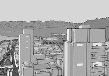 Anthony Satter's Environments storyboard art