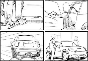 Anthony Satter's Shootingboards storyboard art
