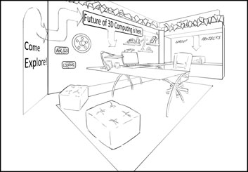 Anthony Satter's Events / Displays storyboard art