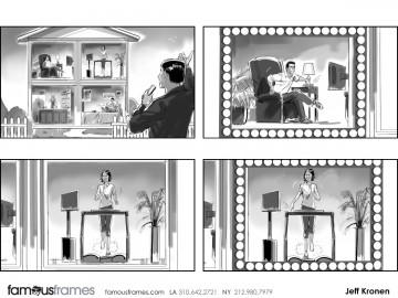 Jeff Kronen's People - B&W Tone storyboard art