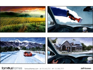 Jeff Kronen's Environments storyboard art