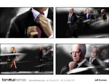 Jeff Kronen's Beauty / Fashion storyboard art