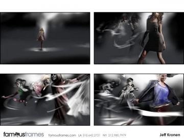 Jeff Kronen's Conceptual Elements storyboard art