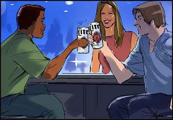 Jeff Kronen's Food storyboard art
